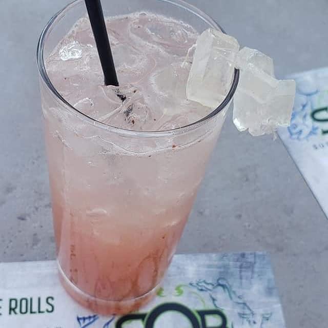 SOB A Girlie Drink House Cocktails Close Up