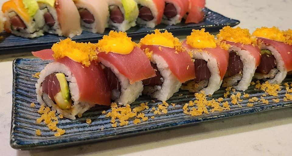 SOB Atomic Tuna Sushi Roll