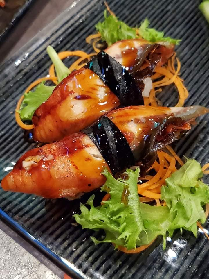 SOB Eel Nigiri Sushi Unagi