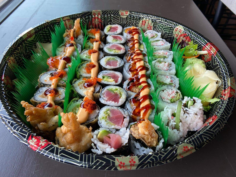 SOB Sushi Platter To-Go