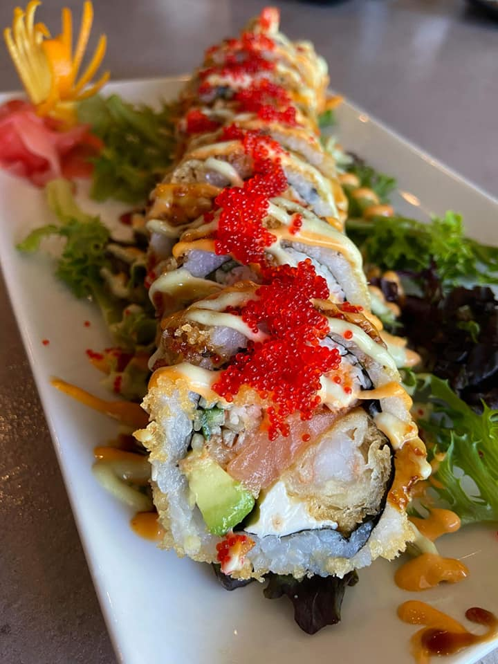 SOB The Bonsai Sushi Roll Close Up Specials
