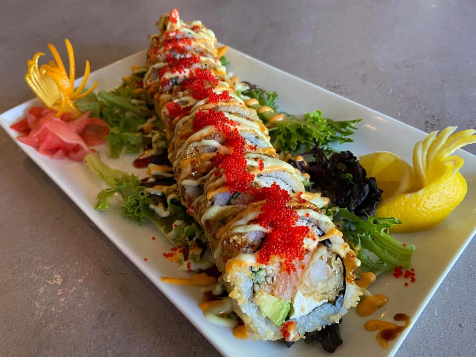 SOB The Bonsai Sushi Roll Special Wide Angle
