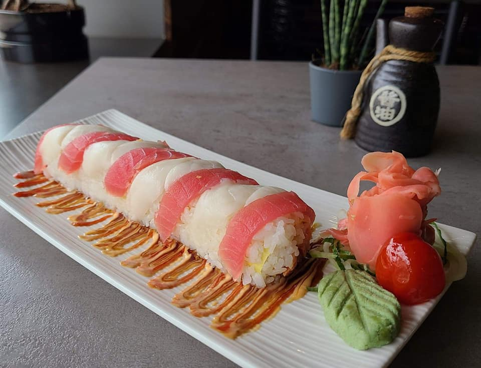 SOB The Rudolph Sushi Roll Specials