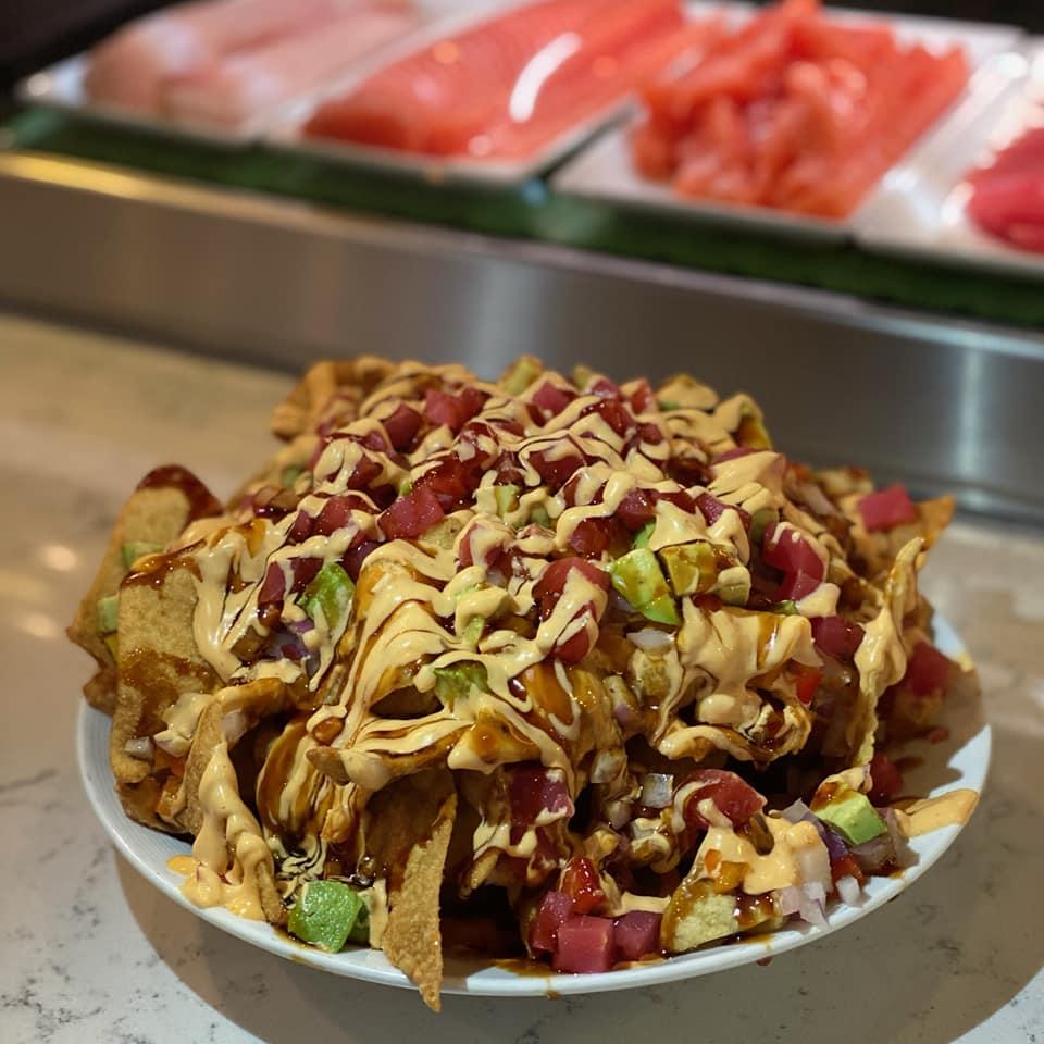 SOB Tuna Nacho Appetizer Sushi Bar