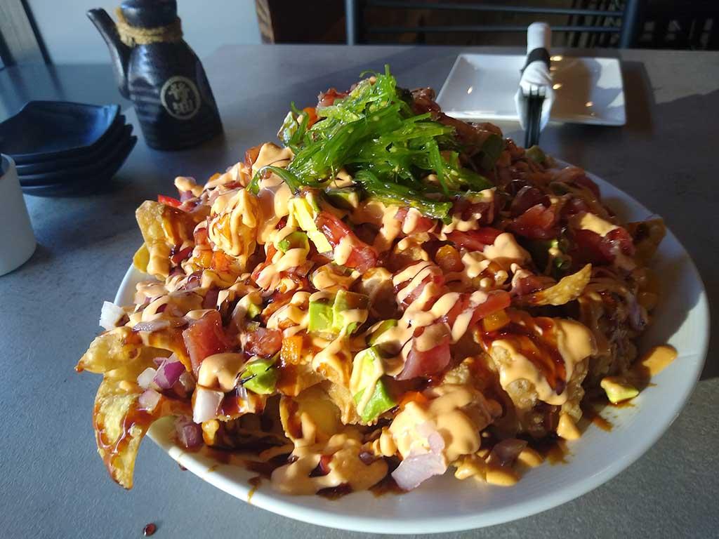 SOB Tuna Nachos Appetizer