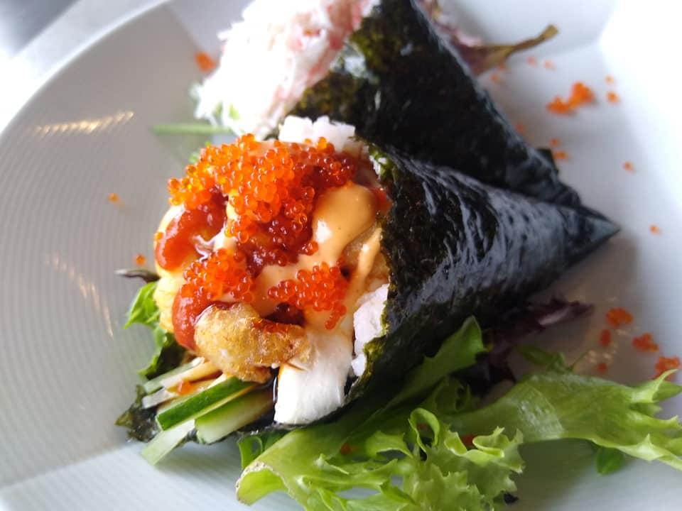 SOB Chicken And Lobster Handroll Sushi Specials