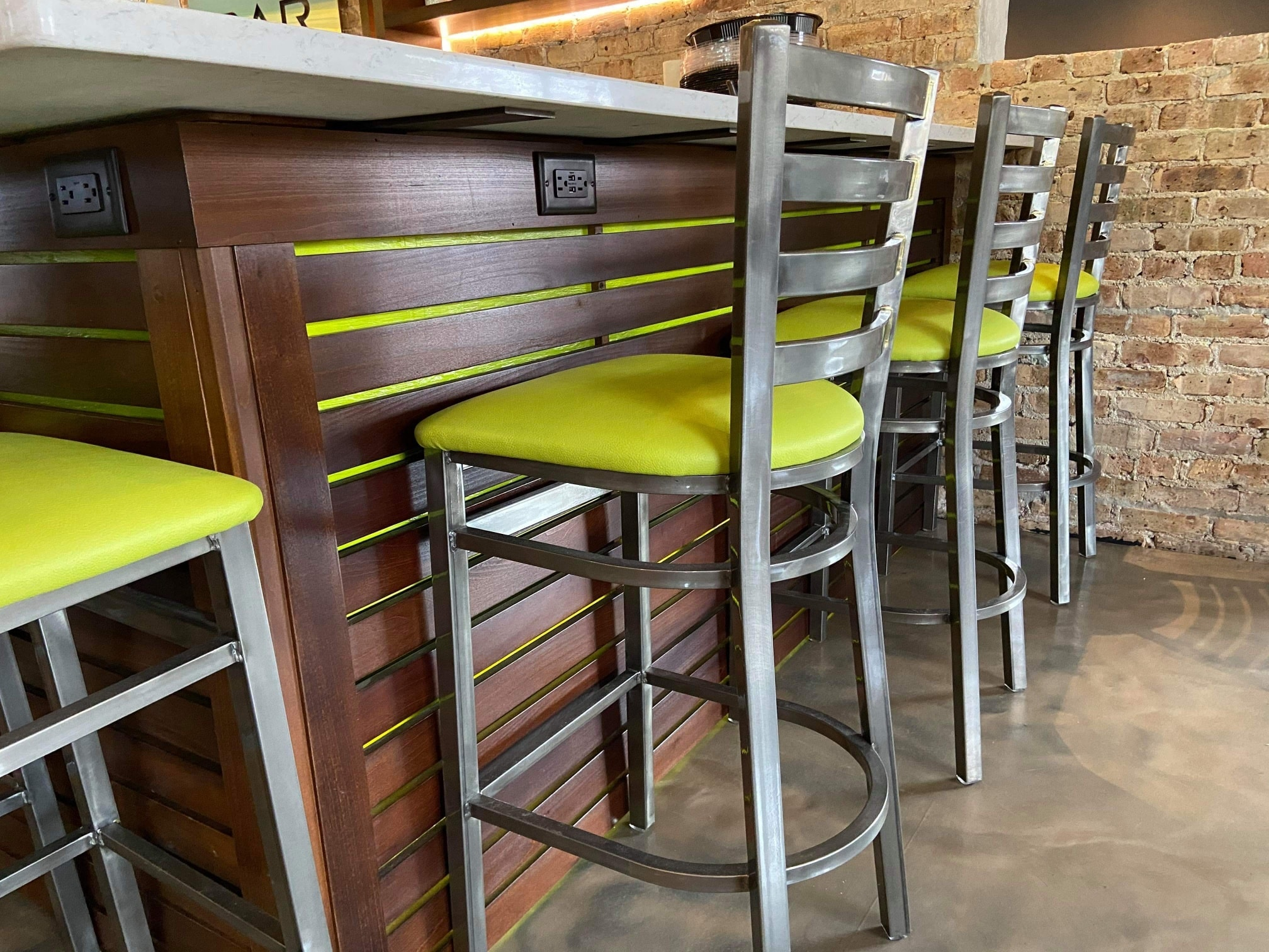 SOB Interior Sushi Bar Chairs