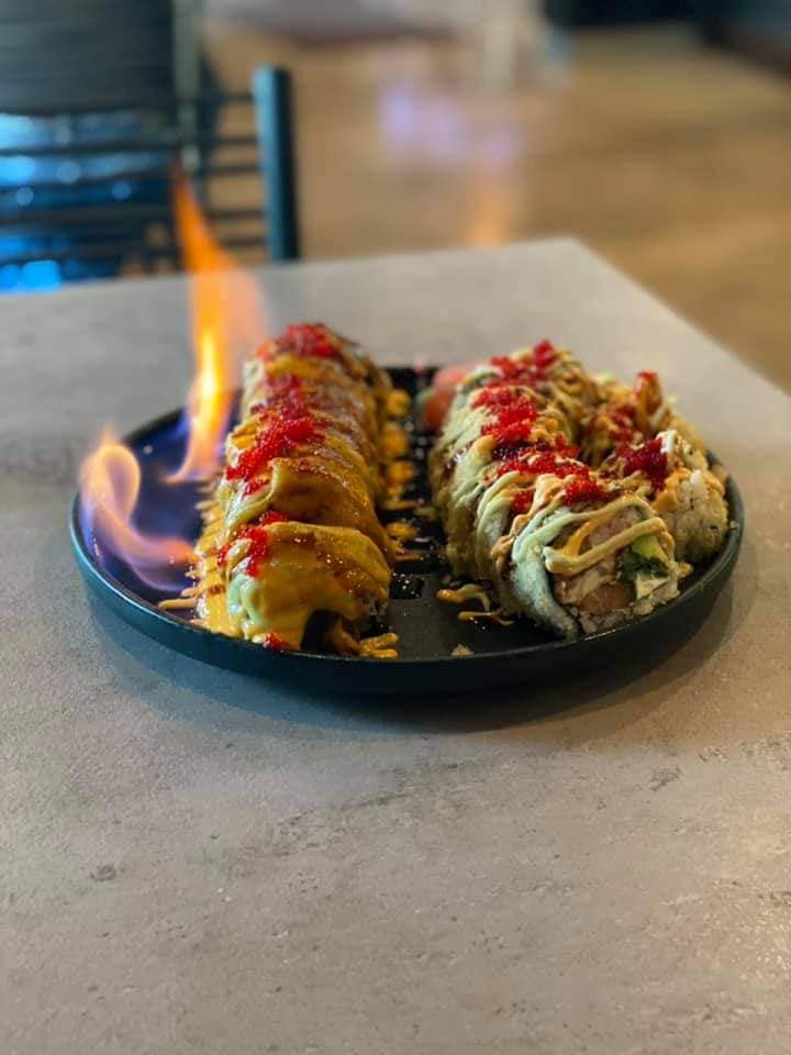 The Bonsai Sushi Roll, and the Posiedon Sushi Rolla